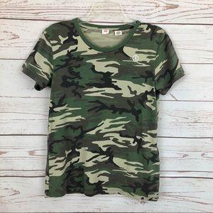 Levi's Camo Peace T-shirt